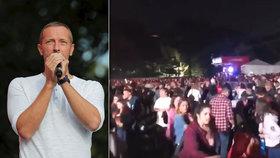 Diváky na festivalu vyděsily rány a vypukla panika! Vyděšený dav uklidňoval Chris Martin