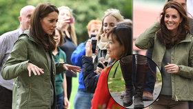 Vévodkyně Kate skončila mateřskou: 5 měsíců po porodu štíhlá jako proutek, do práce v 10 let starých botách