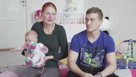 Pár z Malých lásek, který se seznámil v herně: Vážná nemoc po porodu