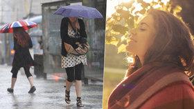 Počasí bude na střídačku: Pražané si v nadcházejícím týdnu užijí sluníčka i přeháněk