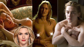 Horkokrevná Kate Winslet slaví: Nahá skoro v každé roli, královna jí dala řád! Znáte její nejžhavější scény?