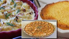 Koláče nemusí být jen sladké: Upečte květákový, bramborový nebo podzimní se semínky