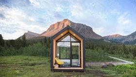 Prefabrikované domy Mono můžete postavit kdekoli. I bez povolení!