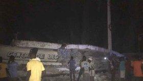 Tragické otřesy na Haiti: při zemětřesení zemřelo nejméně 11 lidí