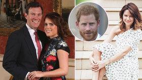 Další královská svatba! V hlavní roli Češka, která dává nevěstu do latě! Hubnul s ní i Harry, pak ji pozval na svatbu