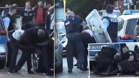 Policisté obviněni z brutality. Škrtili a mlátili neozbrojeného muže tmavé pleti