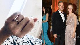 Miss z děcáku Kašáková se zasnoubila: Pochlubila se krásným prstenem