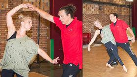 Náhradník Geňa dře na trénincích StarDance: Zatím umím jen dva tance