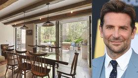 Bradley Cooper si pořídil nový dům. Za víc jak třináct milionů dolarů!
