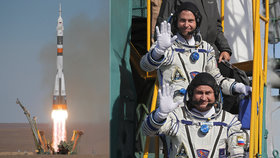 Start Sojuzu se dvěma kosmonauty se nezdařil. Rusové zarazili cesty do vesmíru
