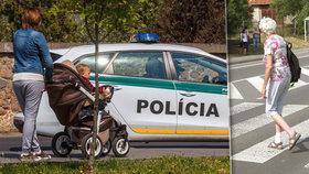 Opilý řidič srazil babičku s kočárkem na přechodu: Z šoku dostala srdeční záchvat