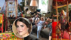 Bouřlivý mejdan po svatbě princezny Eugenie: Ruské kolo, nóbl alkohol a slavní zpěváci