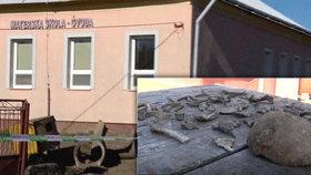 Dva metry od školky našli dělníci lidskou lebku, žebra a klíční kosti: Neví se, komu patřily