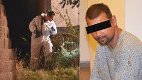 Měl zavraždit seniora, pořezat ženu a zaútočit na policistku: Soud rozhoduje o vazbě