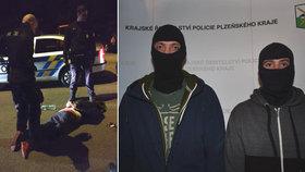 Měl střelit ženu do hlavy! Desítky policistů pátrali po útočníkovi: Lehl před namířenou zbraní