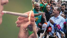 Neotřelá kampaň: kandidát na prezidenta rozdával jointy, zatkla ho policie