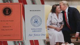 Extchyně amerického prezidenta Marie Zelníčková (92) ze Zlína: Trump mi říká bábrle!