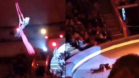 VIDEO: Akrobatka Jana (19) spadla z pěti metrů! Jako zázrakem si jen zlomila ruku