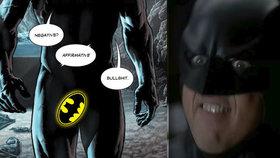 Batman poprvé ukázal penis: Temný rytíř se za svého netopýra stydět rozhodně nemusí