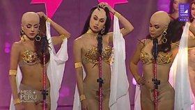 Šokující úvod prestižní soutěže krásy: Soutěžící ukázaly pleš