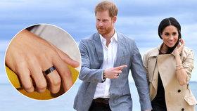 Proč nosí Princ Harry černý prsten? Důvod vás překvapí!
