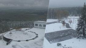 K výročí republiky napadl sníh a přišly mrazíky. Zítra vyletí teploty až na 20 °C