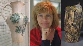 Od slepic k samostatné výstavě: Keramička Dana (60) pomohla desítkám dětí splnit umělecký sen