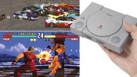 Konzole PlayStation Classic odhalila nabídku videoher: Zahrajeme si Metal Gear Solid i Resident Evil