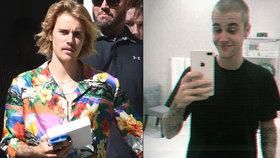 Justin Bieber šokoval své příznivce: Shodil máničku a šel dohola!