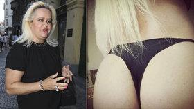 Monika Štiková vystavila pupínkatý zadek v tangách! Humus a odpudivé, kritizovali ji na Facebooku