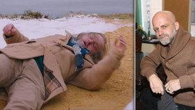 Seriálový Rapl Hynek Čermák (45): Mafiáni mu rozbili brýle!