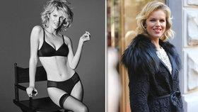 Herzigová (45): »Oživila« slavnou reklamu na podprsenky Wonderbra z roku 1994