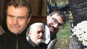 »Debilní selfie« syna Svobody (†68) na hrobě táty vytočilo Hůlku: Ty jsi vůl, Petře!