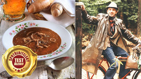 Test Blesku: Dršťková se jedla už za Rakouska-Uherska! A Hanzlík ji vařil ve Slavnostech sněženek
