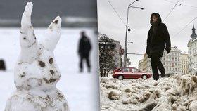 Stavění sněhuláků, nebo Vánoce na blátě? Víme, jaká bude letošní zima