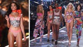 Shanina Shaik na přehlídce Victoria's Secret: Au, to je zářez!