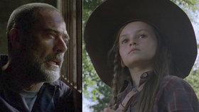 The Walking Dead: Dcerka Ricka Grimese vyrostla a Negan jí dělá strýčka. Kdo je ale biologický otec Judith?