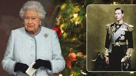 Královna do února nesundává vánoční výzdobu, údajně jde o dojemnou pietu