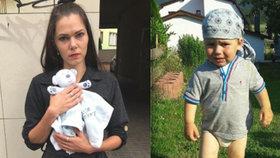 Jakoubek (†2) zemřel mámě v náručí. Zdravotnice ji dohnaly před soud. Je prý psychopatka