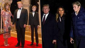 Výšku zdědil po tátovi. Barron Trump se vytáhl, už je větší než první dáma