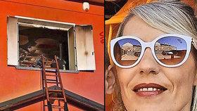 Italský manžel Silvii z pomsty podpálil dům a zabil syna: Její rodina chce, aby se vrátila do své domoviny