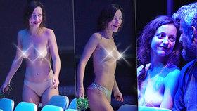 Horváthová z Cest domů se odvázala: Představení odehrála skoro nahá!