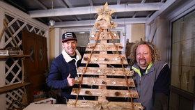 Věčný vánoční stromek ze staré palety. Vyrobte si ho s Láďou Hruškou