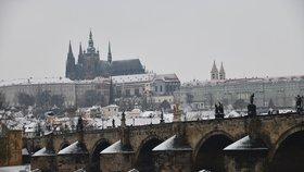 Teploty na nule a déšť se sněhem: Pražany čeká mrazivý týden