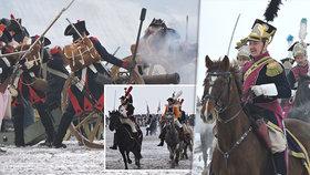 Tradiční bitva u Slavkova bez Napoleona: Americký herec zkolaboval v nemocnici!
