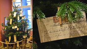 Jak vypadal první pražský vánoční strom? Namísto ozdob na něm visely směnky