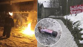 Krvavé peklo na průvodu čertů: Petarda z Česka utrhla chlapci (16) prsty