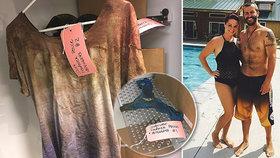 Zdrcující důkazy v kauze amerického Neffa Nováka: Zakrvácené tričko a kalhotky od hlíny