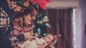 Vánoční body pro miminka: Kde koupíte ty nejroztomilejší kousky?