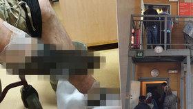 Bezdomovci v Praze mrazem zčernaly nohy! Pro pomoc přišel po svých, odvezla ho záchranka. Drastické foto uvnitř